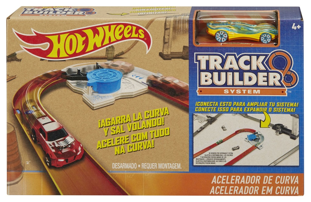 Hot Wheels Track builder Turn kicker