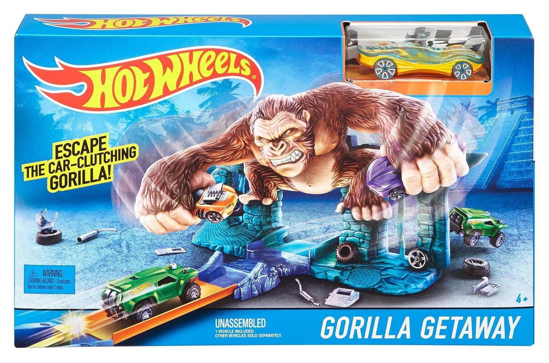 Hot Wheels Gorilla getaway
