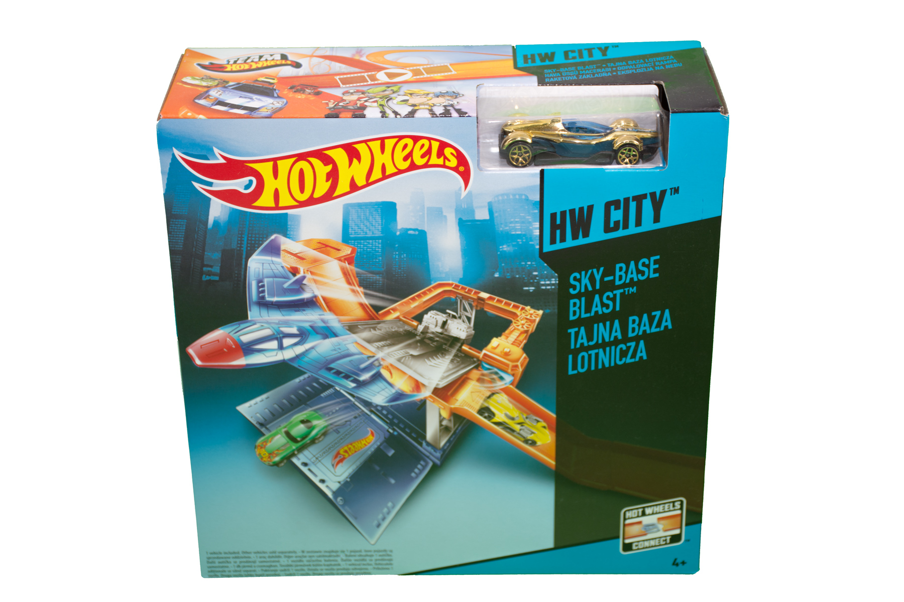 Hot Wheels City Odpalovací rampa