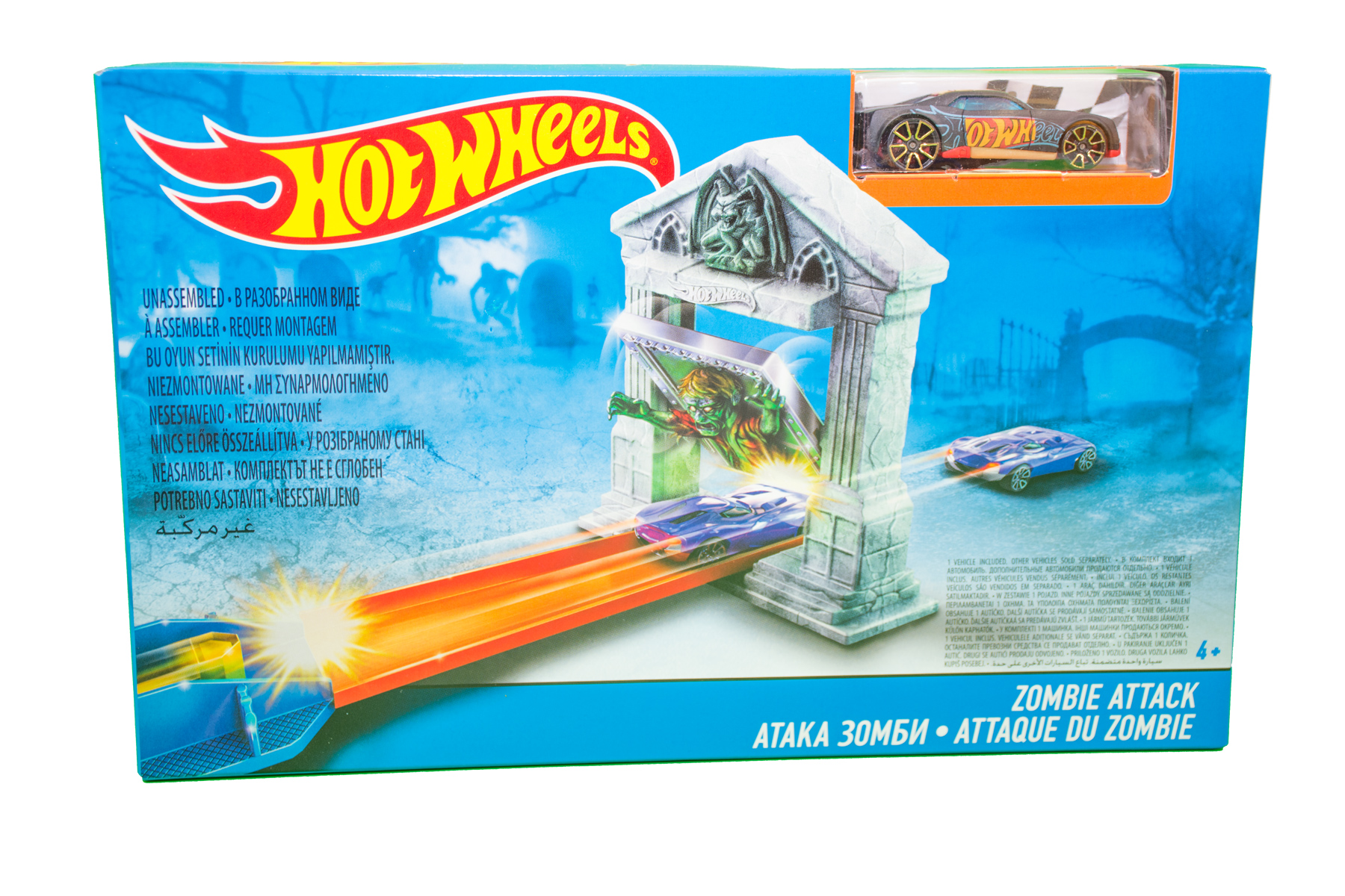 Hot Wheels Zombie Attack