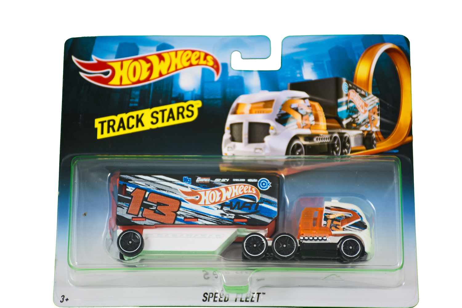 Hot Wheels Track Stars Speed Fleet