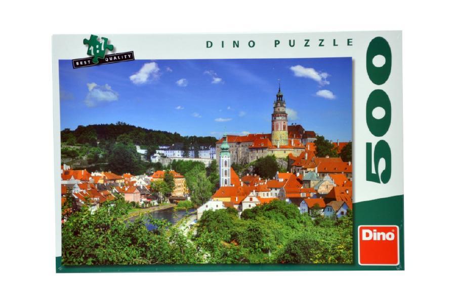 DINO Puzzle Český Krumlov