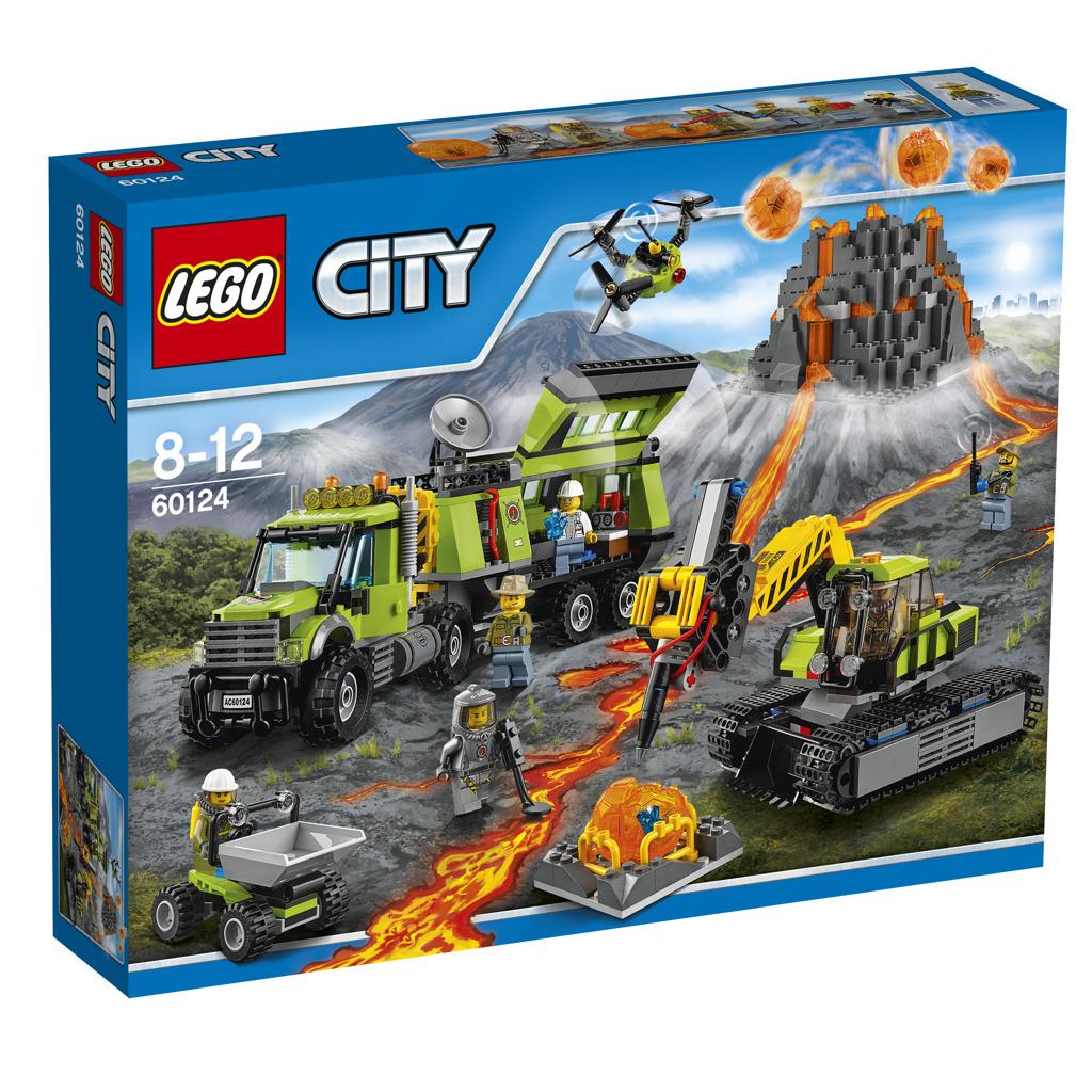 LEGO City Sopečná základna průzkumníků