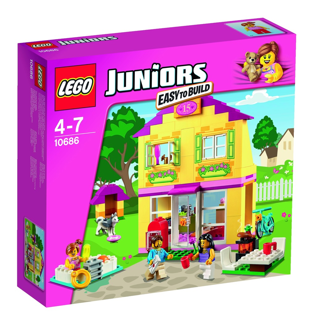 LEGO Juniors Rodinný domek
