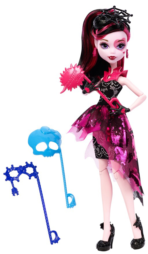 Monster High Monsterka s doplňky do fotokoutku Monsterka: Draculaura™