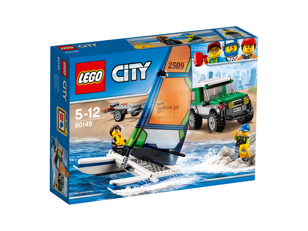 Lego City 4x4 s katamaránem