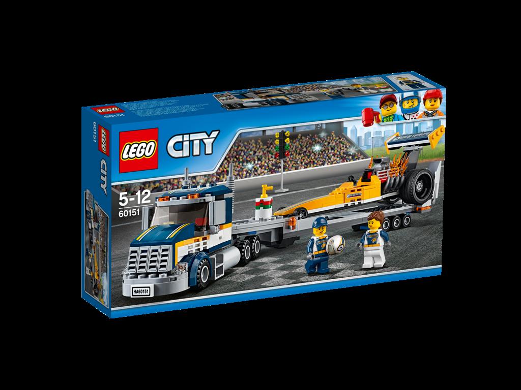 Lego City Transportér dragsteru