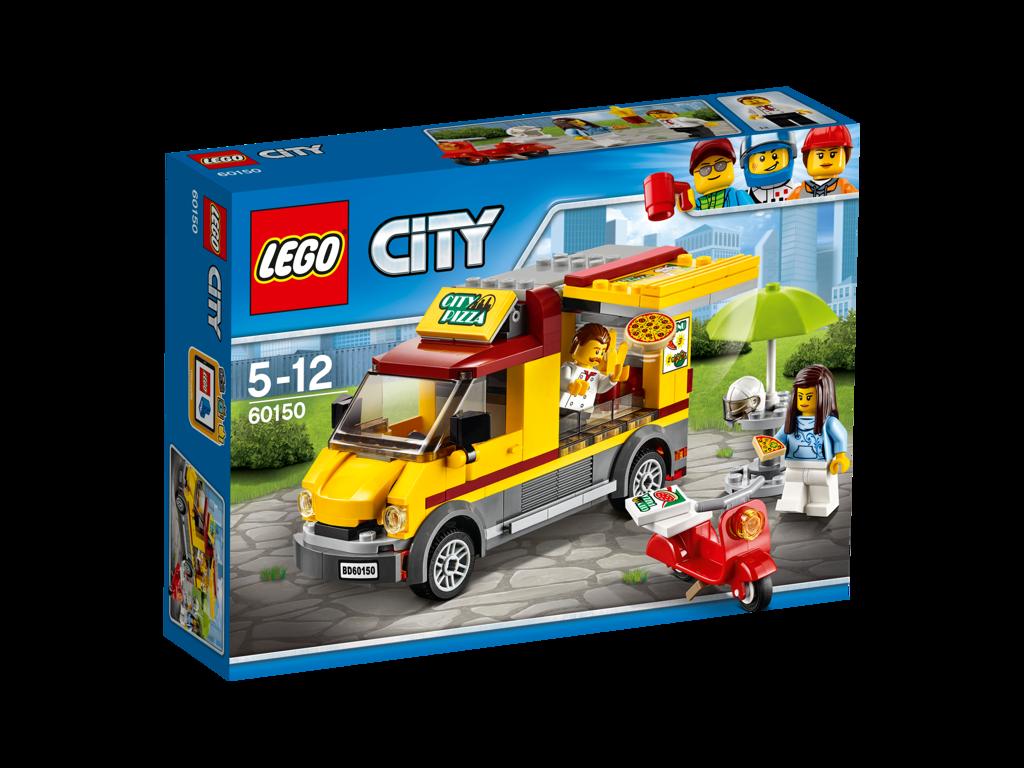 Lego City Dodávka s pizzou