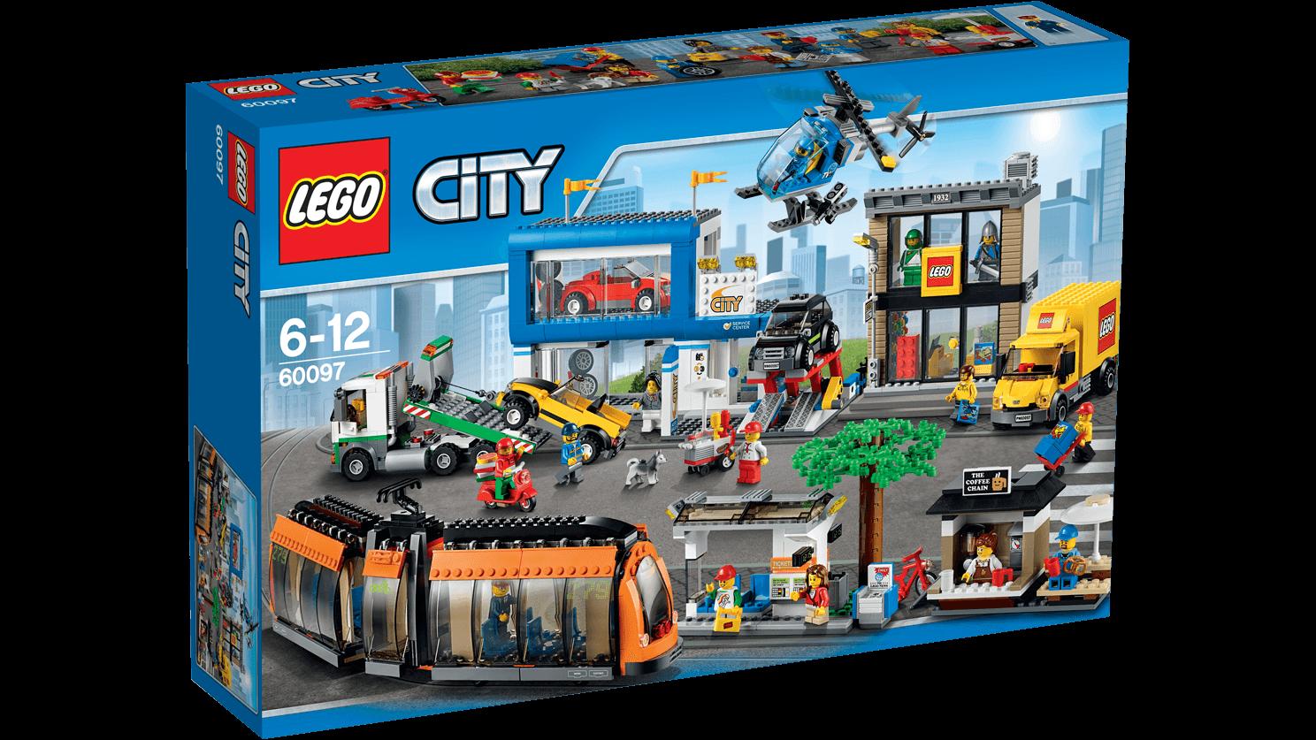 LEGO City Náměstí ve městě