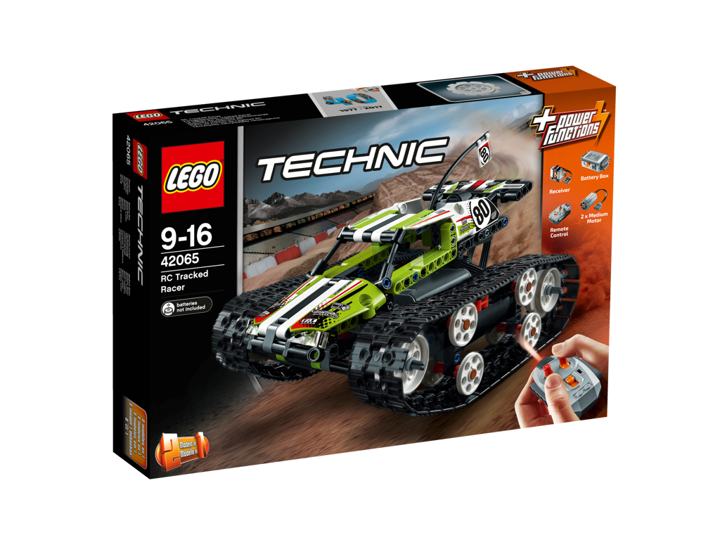 LEGO Technic RC pásový závoďák
