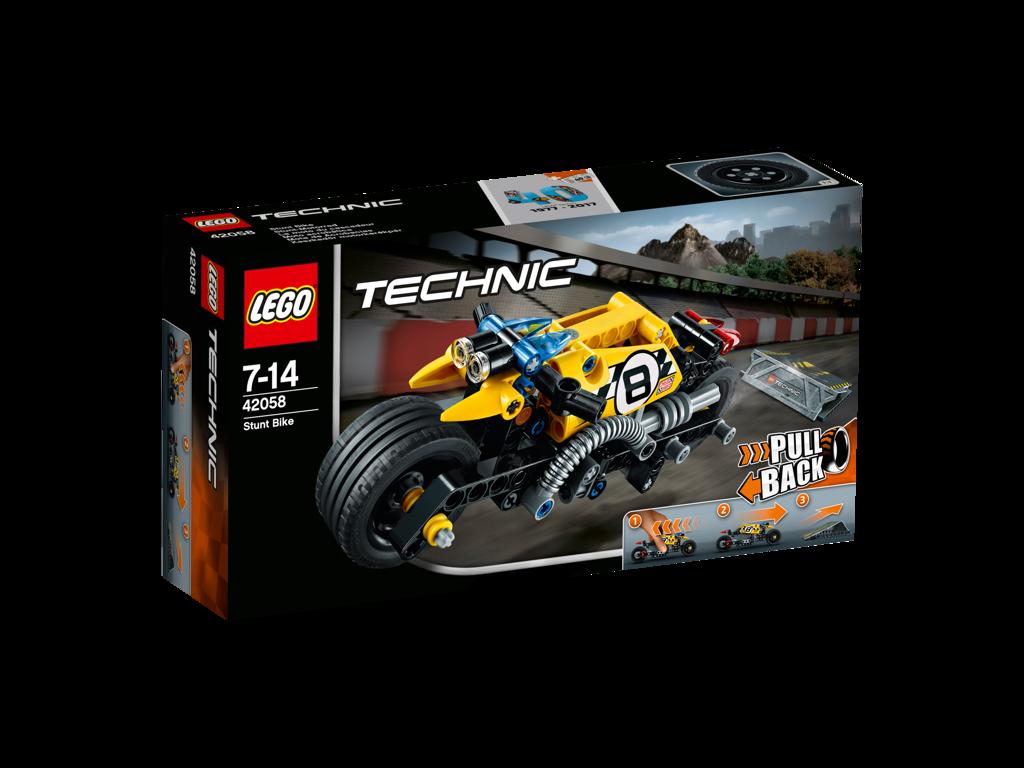 LEGO Technic Motorka pro kaskadéry