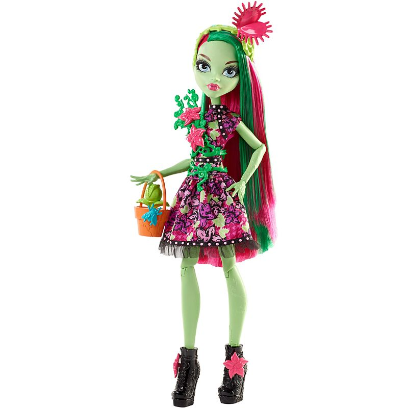 Monster High party ghúlky Panenka: Venus McFlytrap