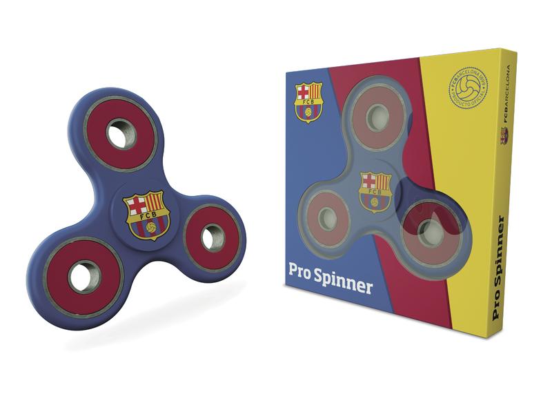Fidget spinner FC Barcelona barva spinneru: modrá