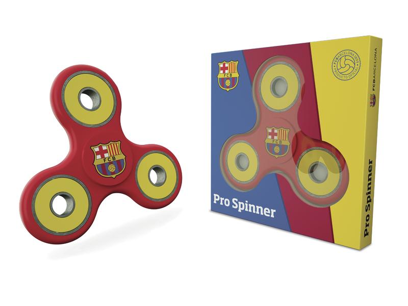 Fidget spinner FC Barcelona barva spinneru: červená