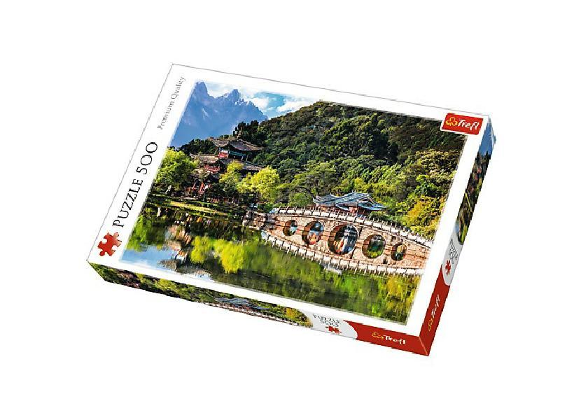 Puzzle Jezero Černého draka, 500 dílků