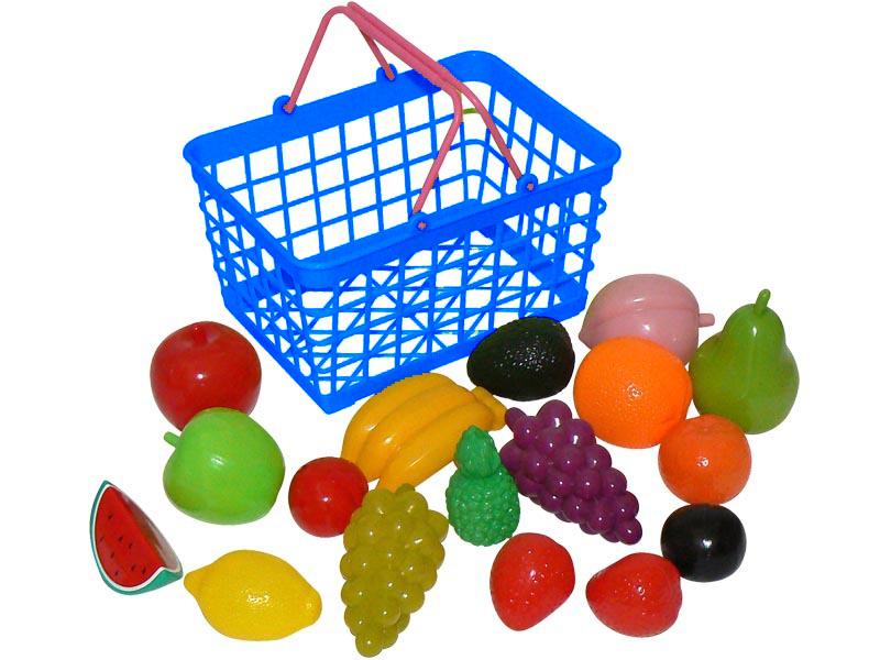 HM Studio Nákupní košík s ovocem