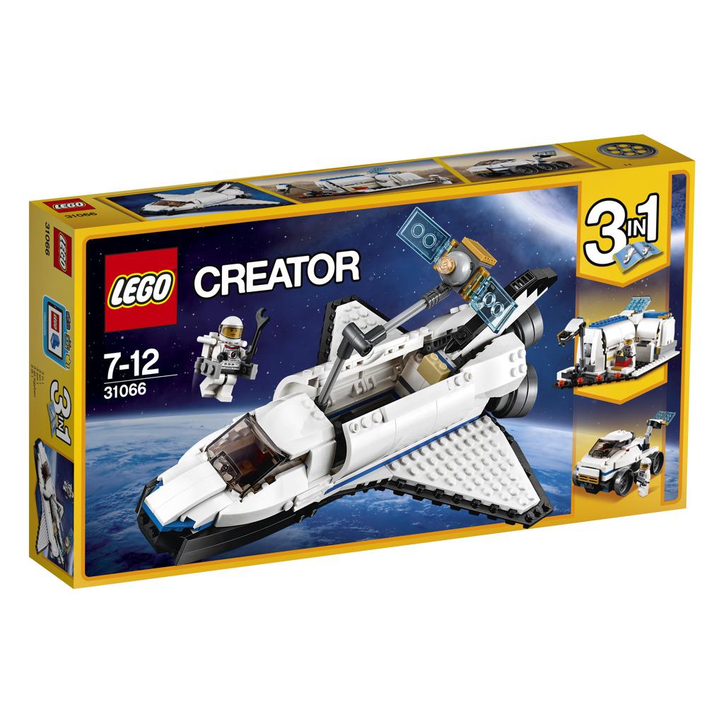 LEGO® Creator Vesmírný průzkumný raketoplán