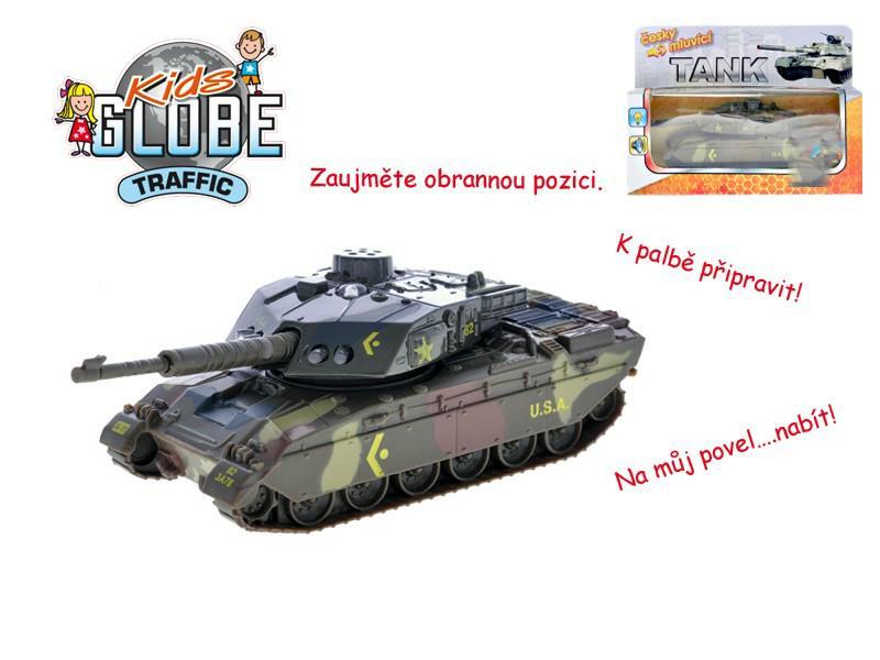 Tank česky mluvící