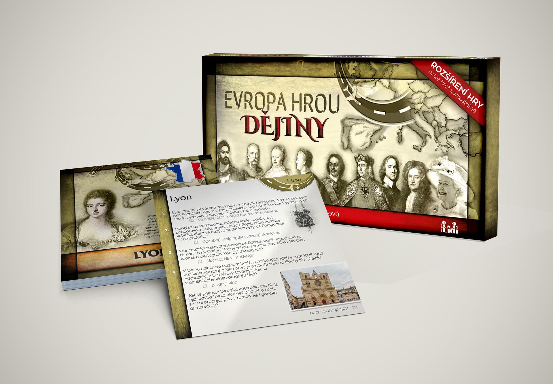 Evropa hrou dějiny