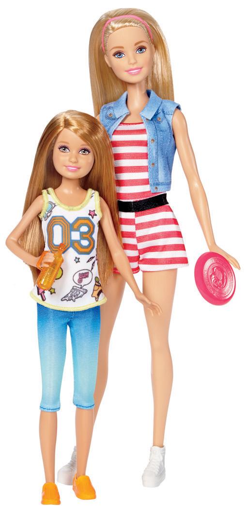 Barbie sestry dvojitý set Sestřičky: Barbie + Stacie