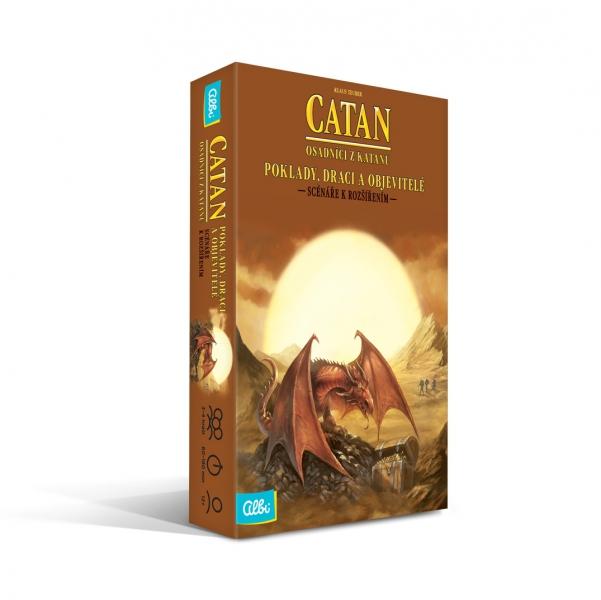Osadníci z Katanu Poklady, draci a objevitelé