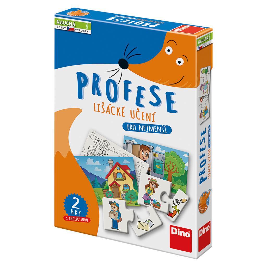 DINO Lišácké učení: Profese