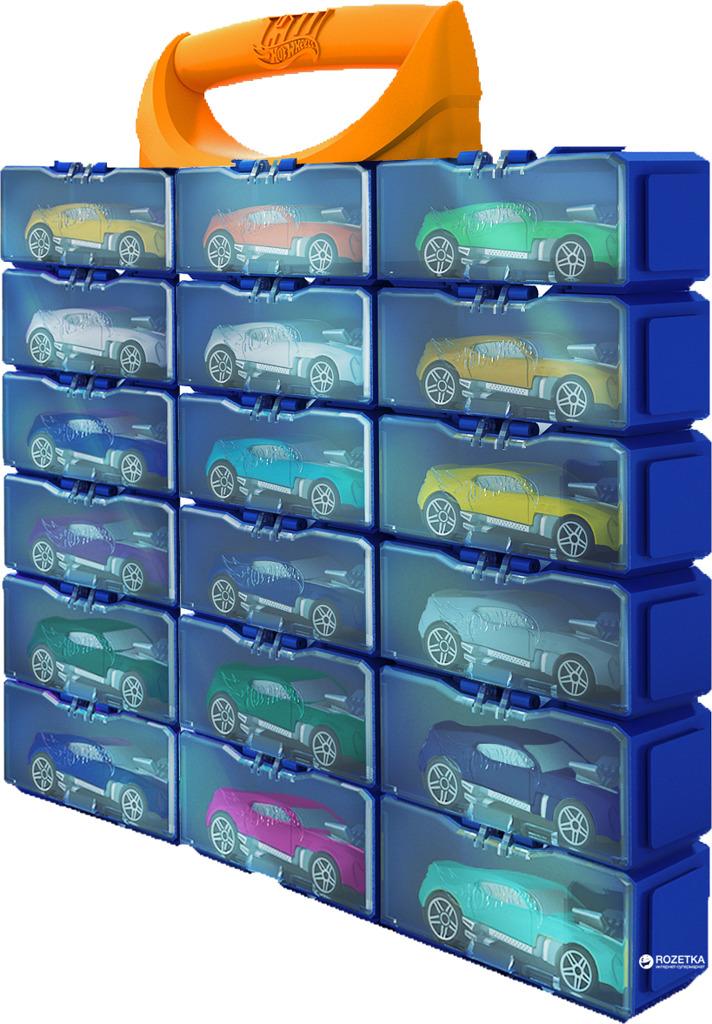 Kufřík Hot Wheels na 18 autíček