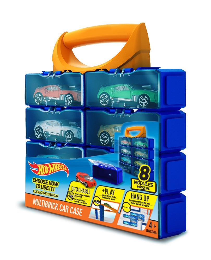 Kufřík Hot Wheels na 8 ks autíček
