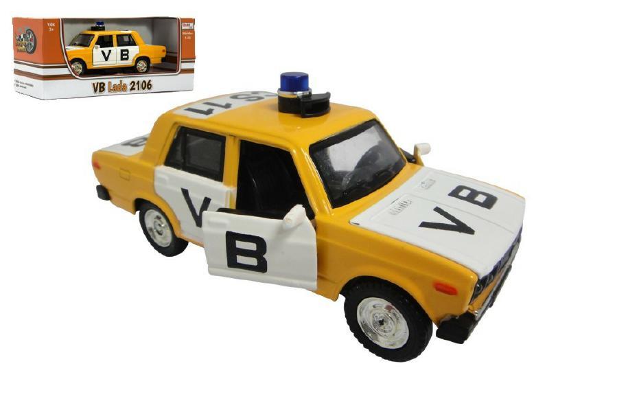 Auto veterán policie VB Lada 2106