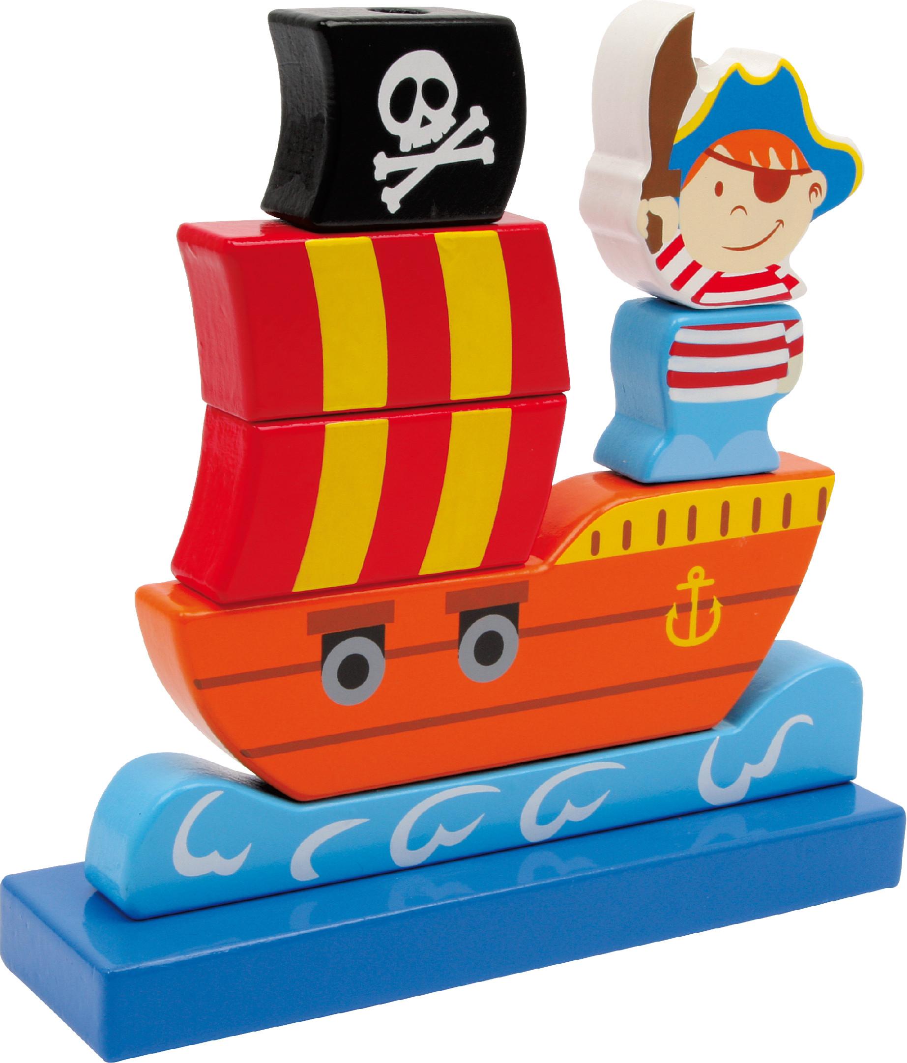 Nasouvací pirátská loď