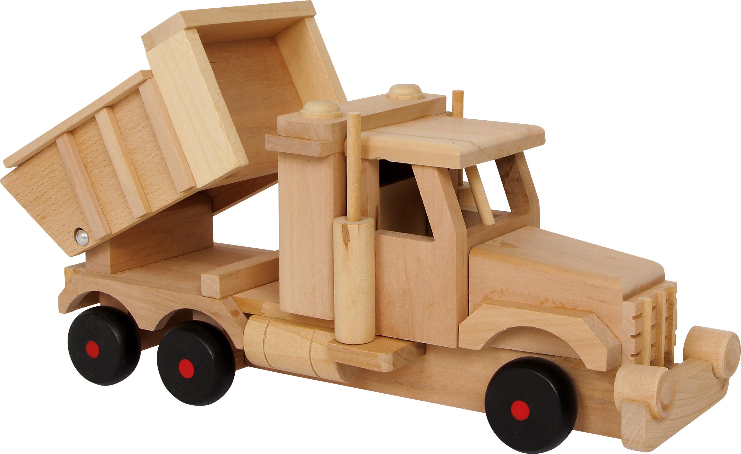Small foots Dřevěný náklaďák sklápěčka
