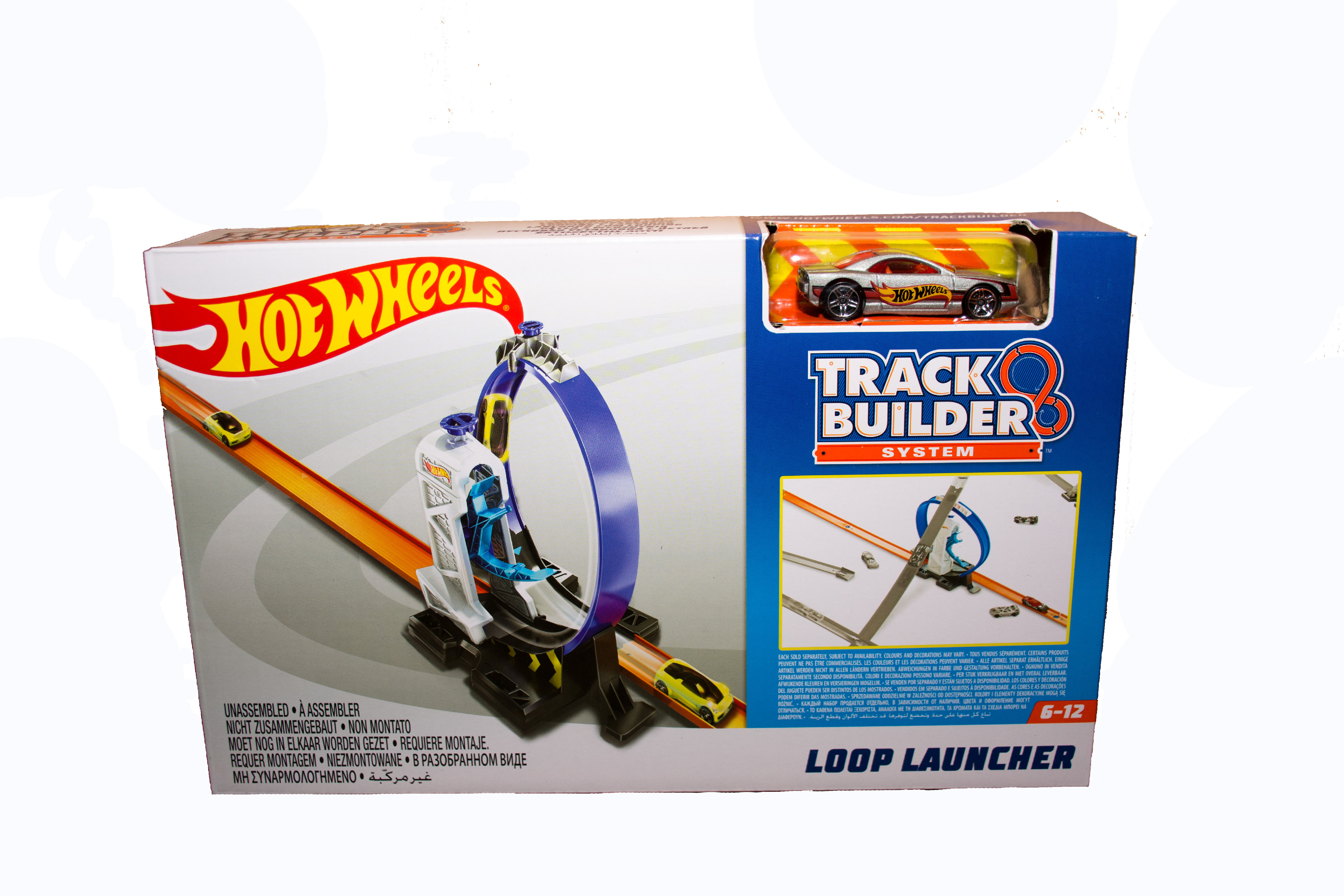 Hot Wheels Track Builder Loop Launcher