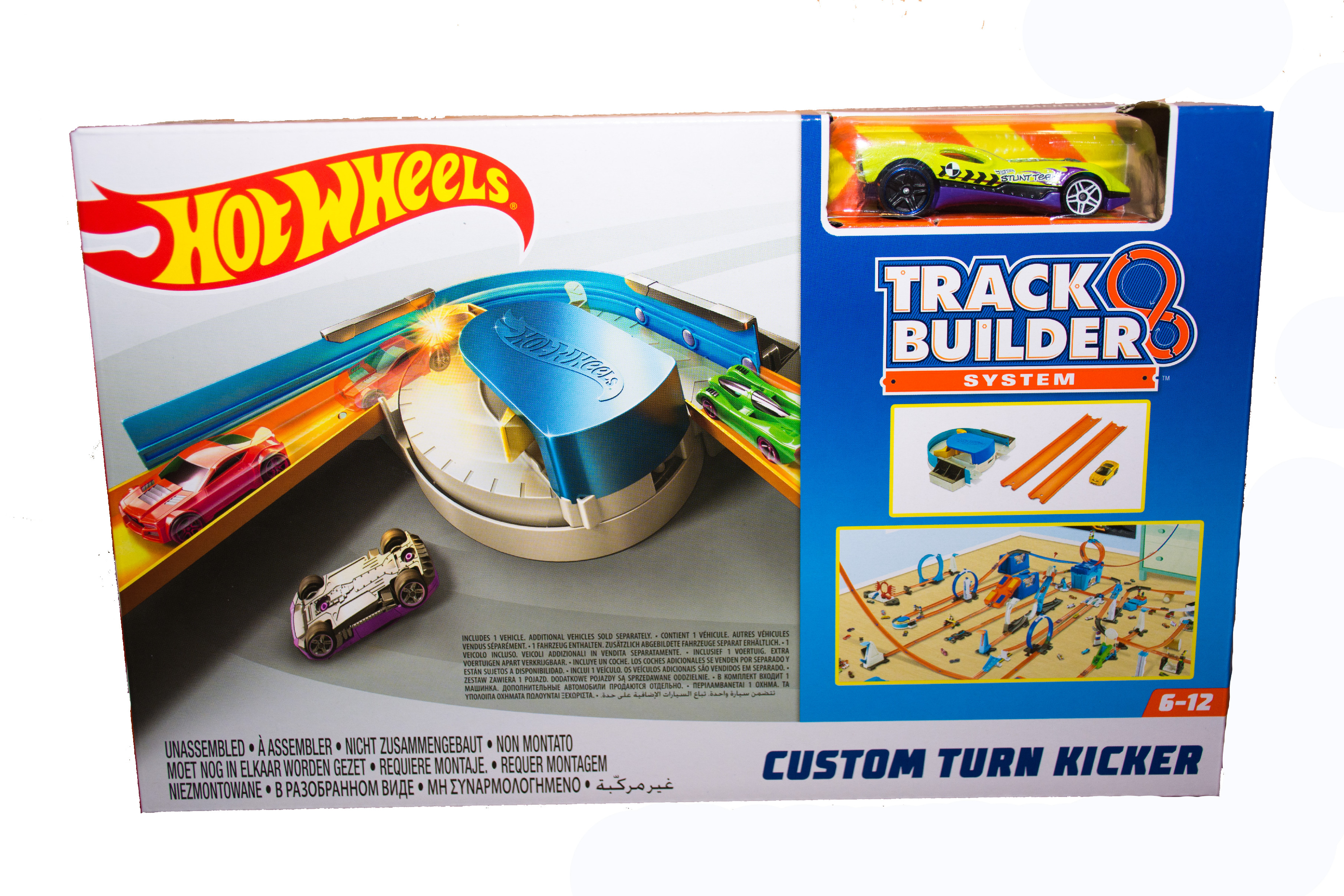 Hot Wheels Track Builder Custom Turn Kicker