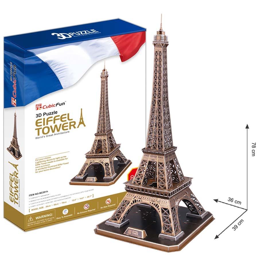 Puzzle 3D Eifffelova věž