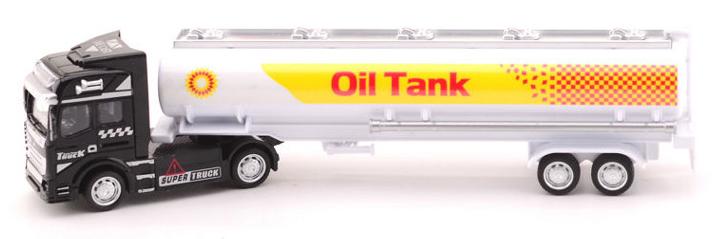 Kovový model kamoinu 1:50 kamion: kamion s cisternou