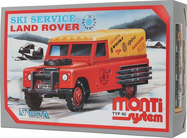 MS 40 Ski Service - Land Rover