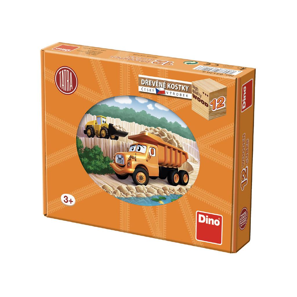 Dřevěné kostky Tatra 12 kostek