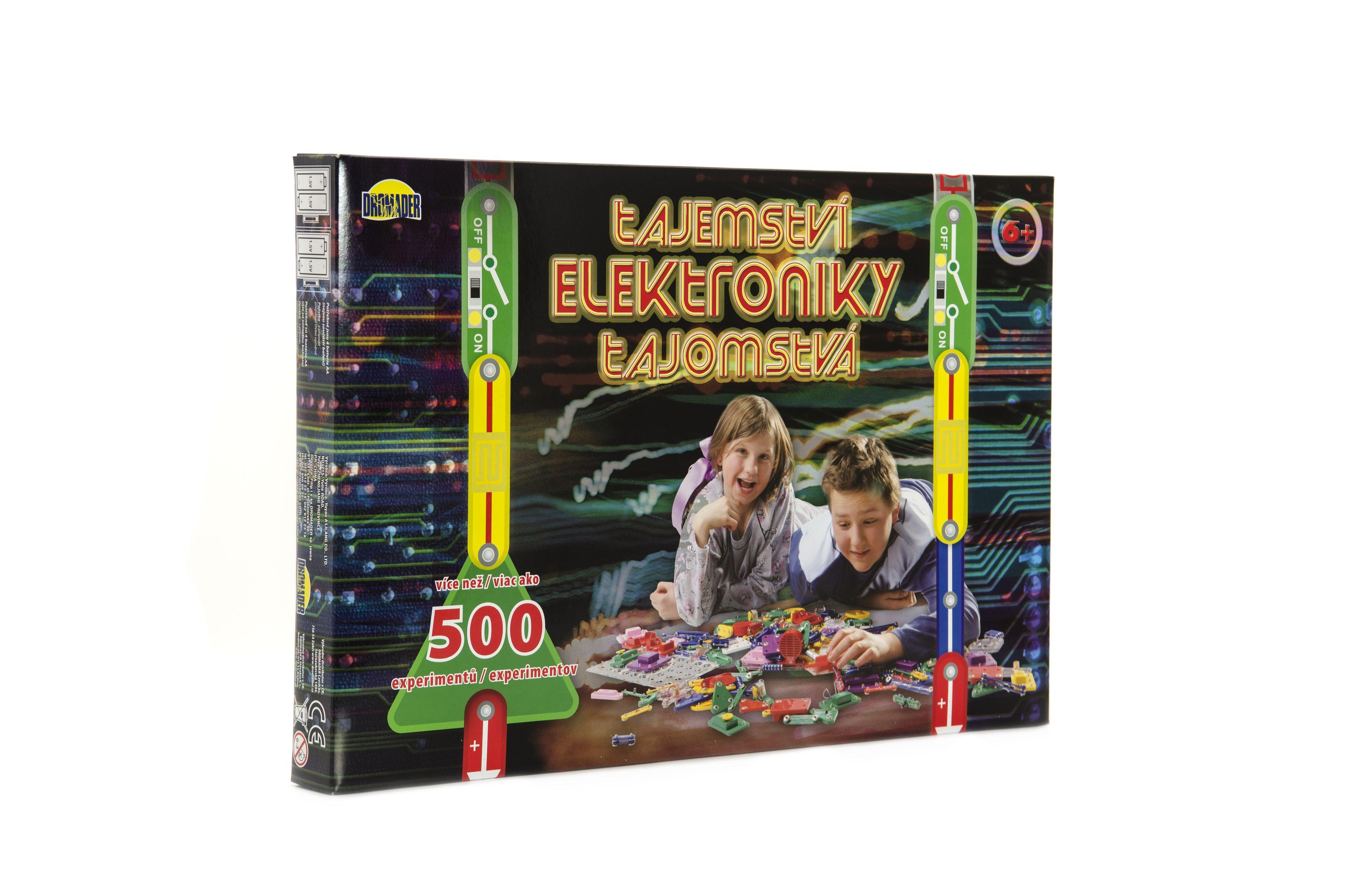 Tajemství elektroniky 500 experimentů