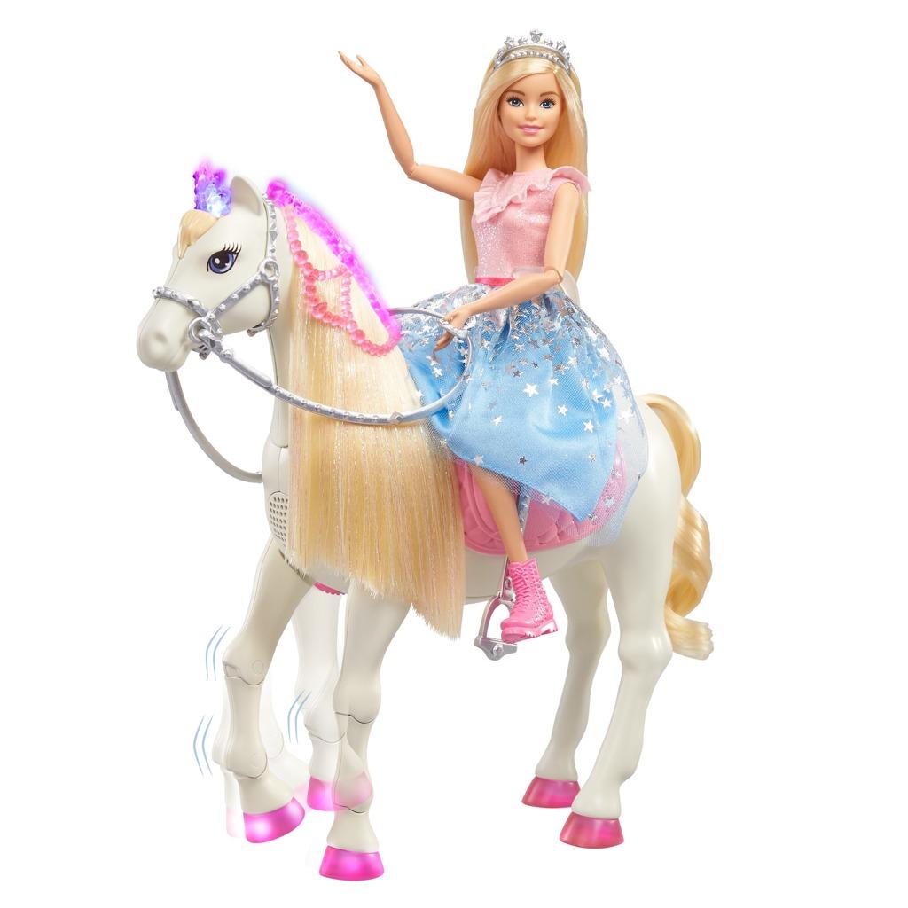 Barbie princezna a kůň