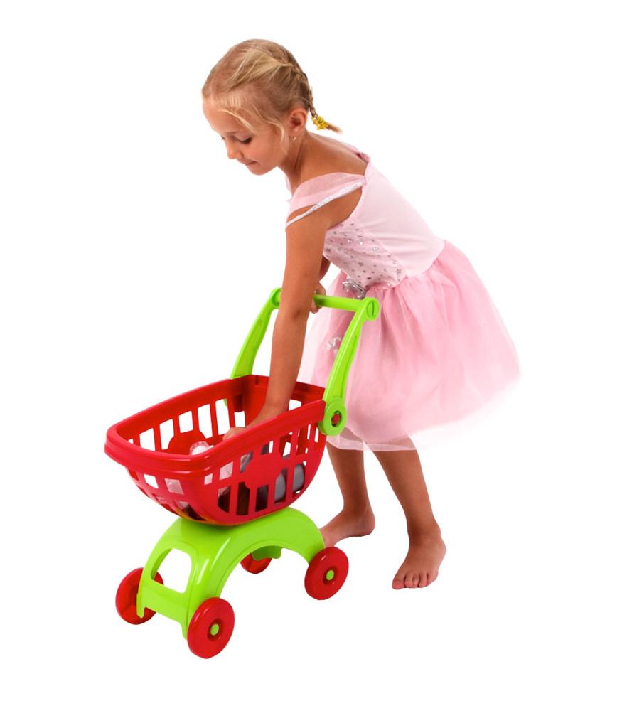 Image of Alltoys Nákupní vozík s doplňky Smart