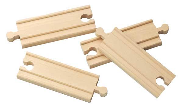 10cm rovné koleje - 4 kusy - Maxim 50902