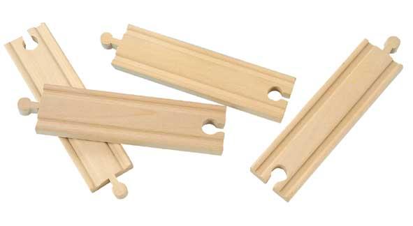 15cm rovné koleje - 4 kusy - Maxim 50904