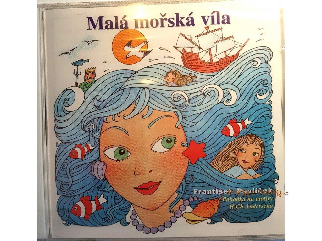 CD Pohádky na motivy H. CH. Andersena Malá mořská víla