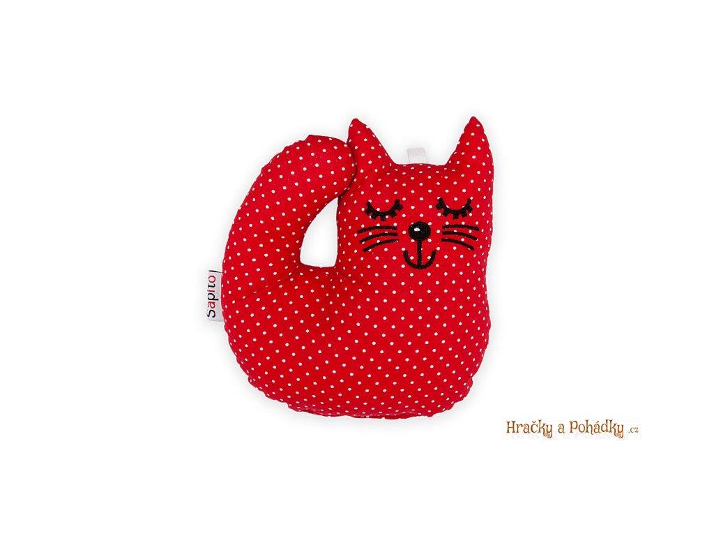 Látková hračka - kotě Puntík