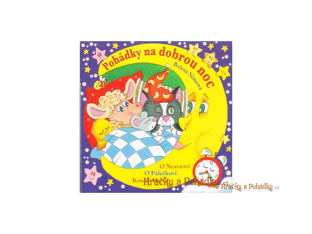 CD Pohádky na dobrou noc - Božena Němcová