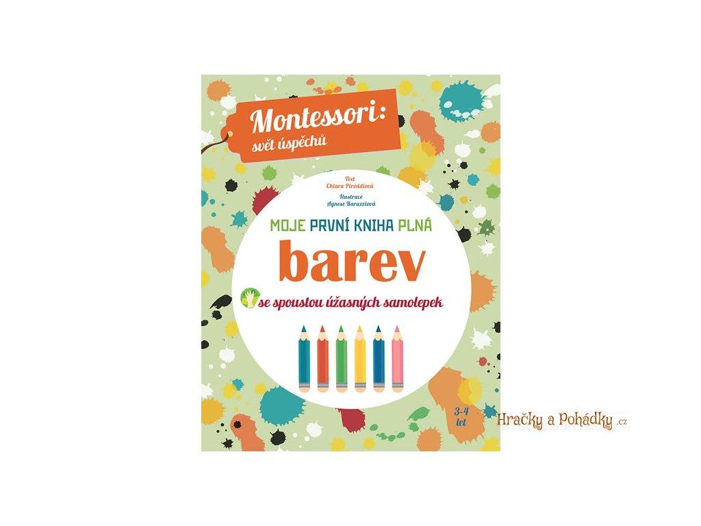 montessori Moje první kniha plná BAREV