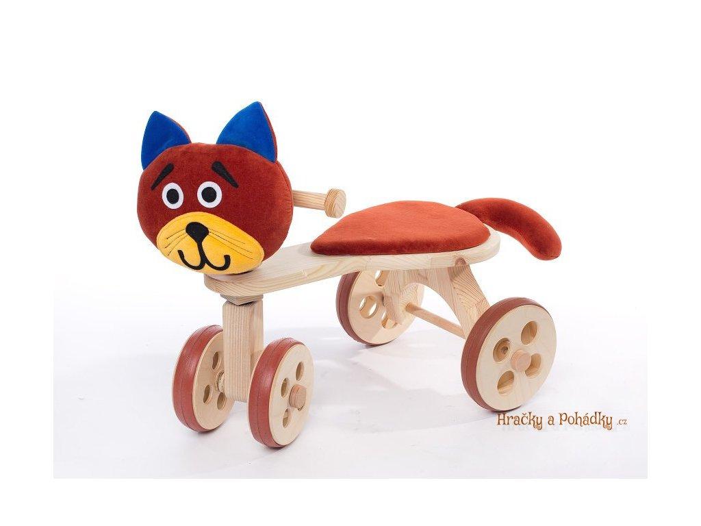 Dřevěné odrážedlo Tilia - kočka