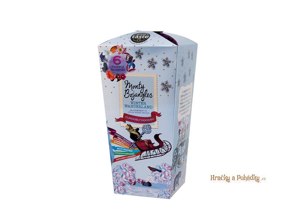 Monty Bojangles Truffle zimní mix čokoládových lanýžů 285g