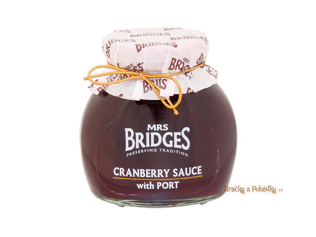 Mrs. Bridges zavařenina Brusinky s portským vínem 340g