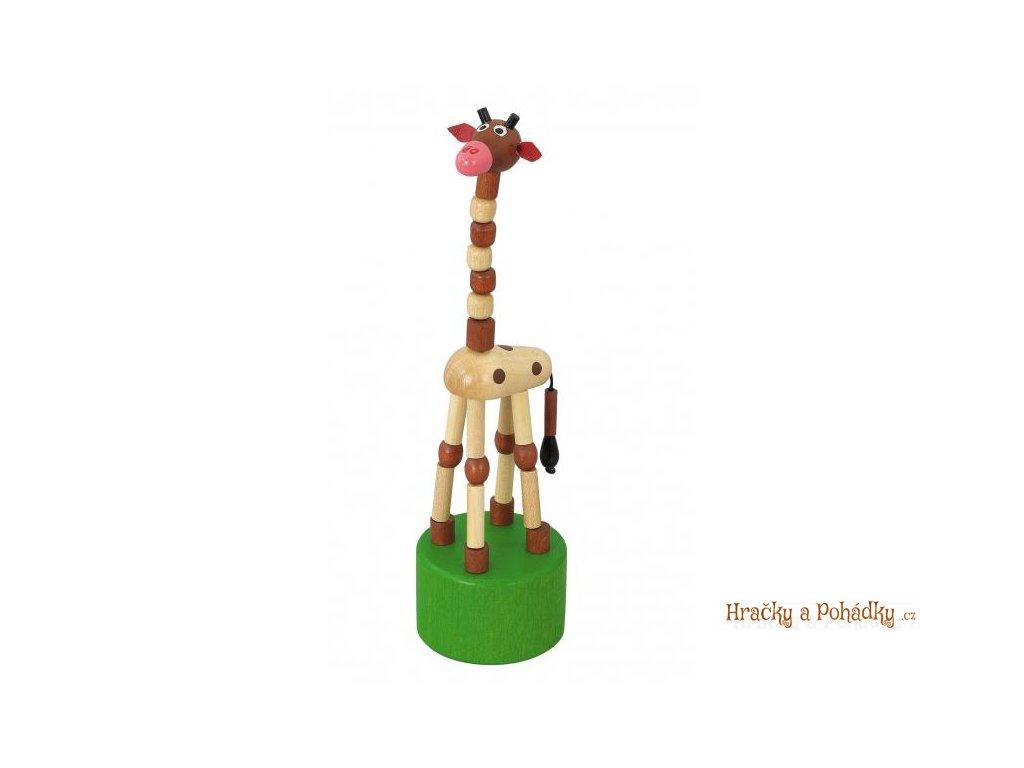 Mačkací figurka - žirafa